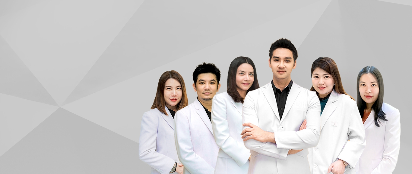 Performed by a team of medical specialists in beauty
